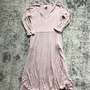 Agnes & Dora pink stripe curie dress. Small